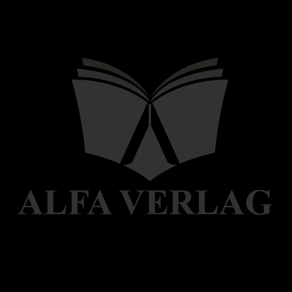 Alfa Verlag Logo S/W